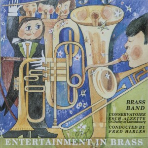 Brassband - Entertainment in Brass (Front cover)