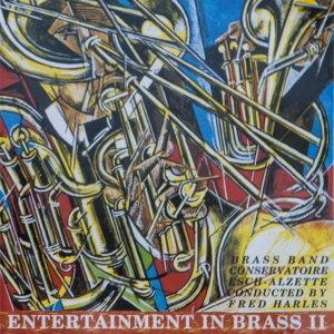 Brassband - Entertainment in Brass II (Front cover)