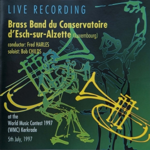 Brassband - Live Recording (Front cover)