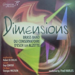 Brassband - Dimensions (Front cover)